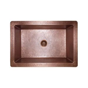 Single Bowl Farmhouse Copper