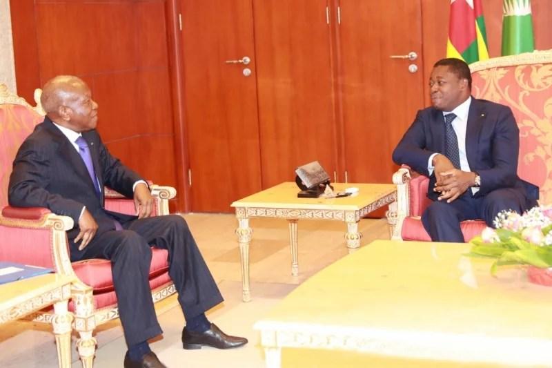 Patrice Kouamé et Faure Gnassingbé