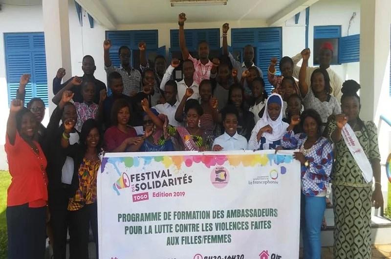 Les ambassadeurs de lutte contre les violences faites aux filles et femmes