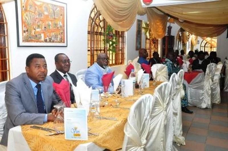Le ministre en charge de la communication, Katari Foli Bazi