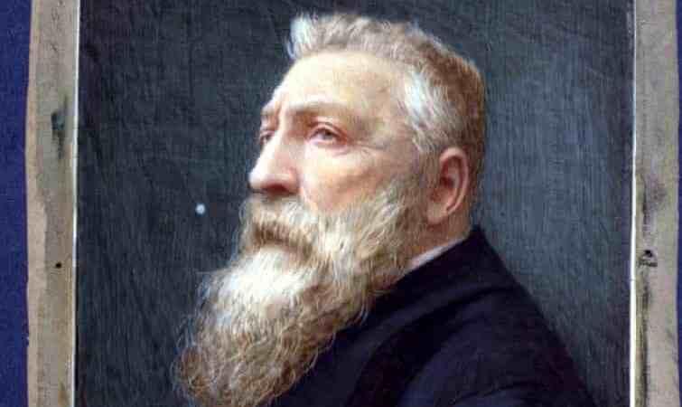 Un visitante descubre un retrato de Rodin