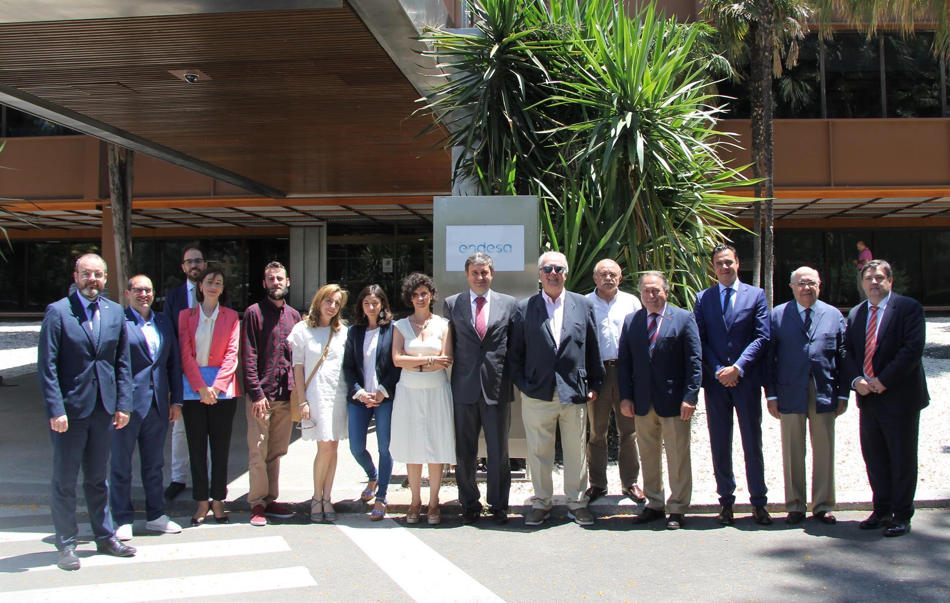 La sede de Endesa acoge una reunión del Cluster Smart City.
