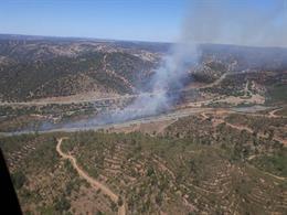 Estabilizado el incendio forestal de El Garrobo