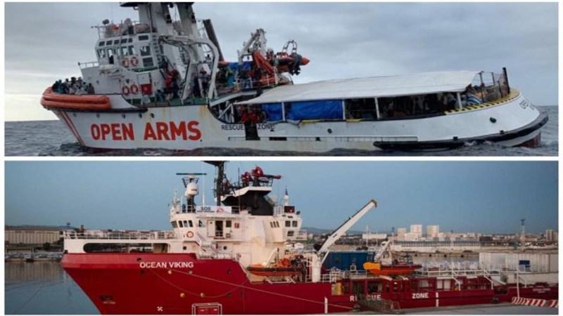 Drama a bordo del 'Ocean Viking' y sus refugiados