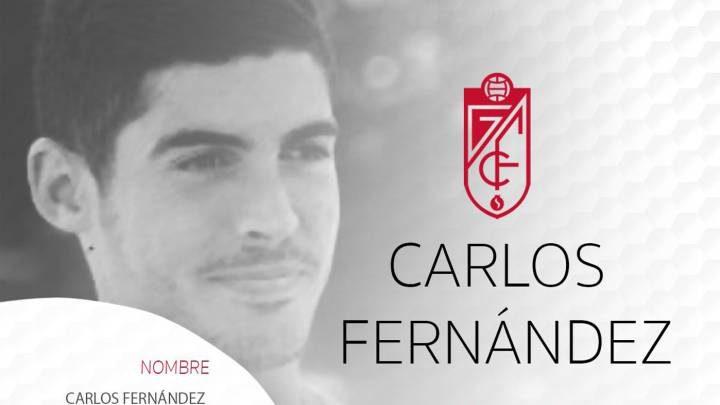 """Carlos Fernández: la cesión """"es lo mejor"""" para su """"crecimiento"""""""