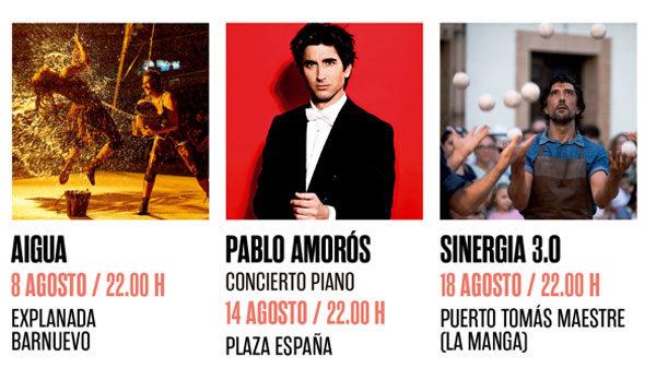 Pianista Pablo Amorós en el concierto gratuito del Festival S.Javier