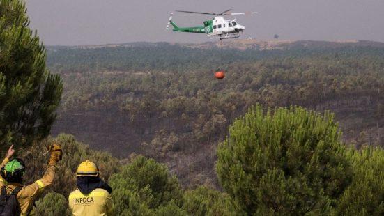 Desactivan nivel 1 por fuego Almonaster y autorizan regreso de los evacuados