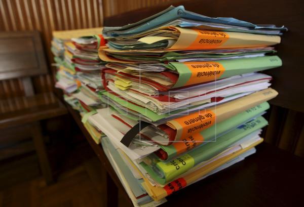 Justicia elimina más de 1,6 millones de expedientes antiguos sin valor