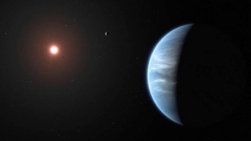 Descubren un exoplaneta con nubes de agua líquida en un mundo en zona  habitable