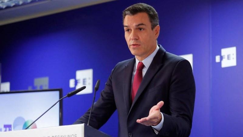 Pedro Sánchez culpa a Podemos de la repetición de elecciones