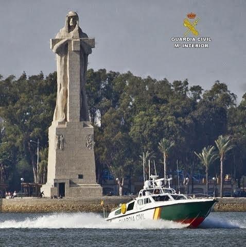 La Guardia Civil se incauta de más de once toneladas de hachís en los últimos cinco días en la costa