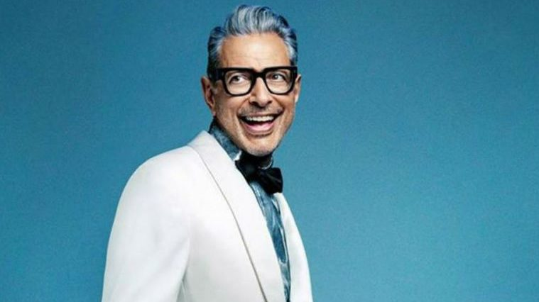 El actor Jeff Goldblum salta al jazz
