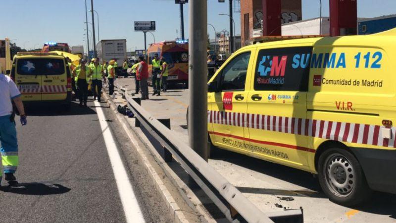 Fallece un motorista en la A4