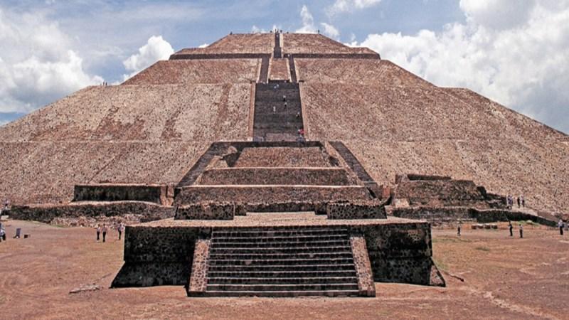 La increíble pirámide del Sol