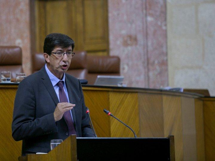 """Marín tilda de """"chantaje y deslealtad"""" la intervención en cuentas andaluzas"""