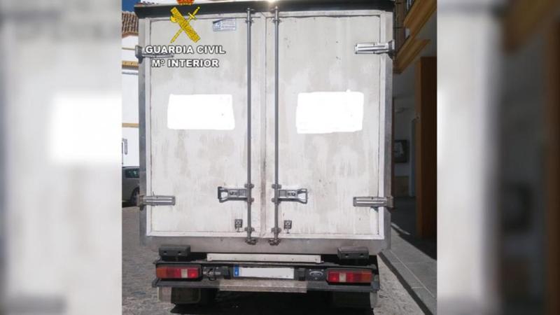 Recuperan un camión tras una persecución