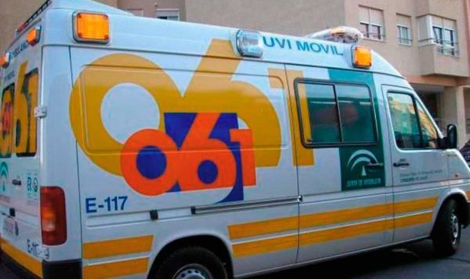Cuatro heridos, dos de ellos menores, en una colisión entre varios vehículos en la A-4