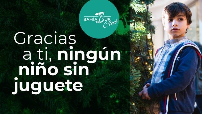 El centro comercial Bahía Sur se suma a la campaña solidaria 'Ningún niño sin juguete'