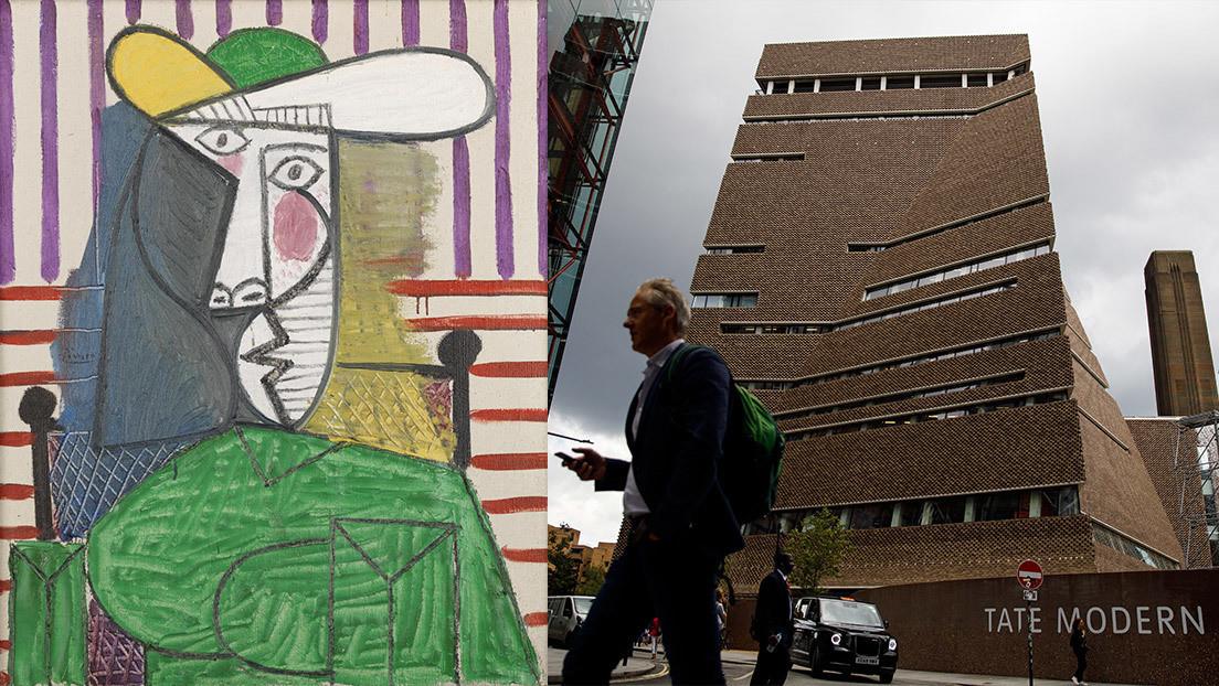 El joven español que dañó una obra de Picasso en Londres será enjuiciado proximamente