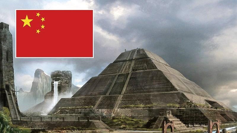 El misterio de las pirámides de China