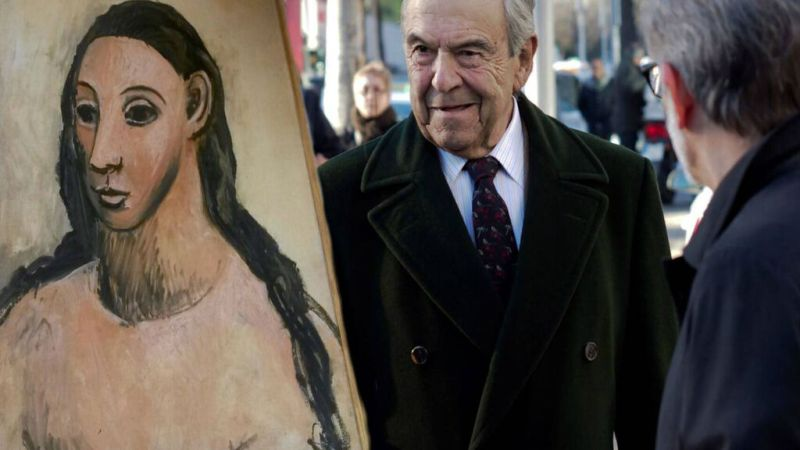 Condenado por intentar sacar un Picasso del pais