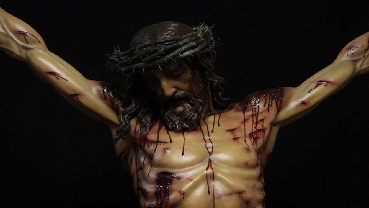 El impresionante Cristo Crucificado de Juan Manuel Miñarro para Miami