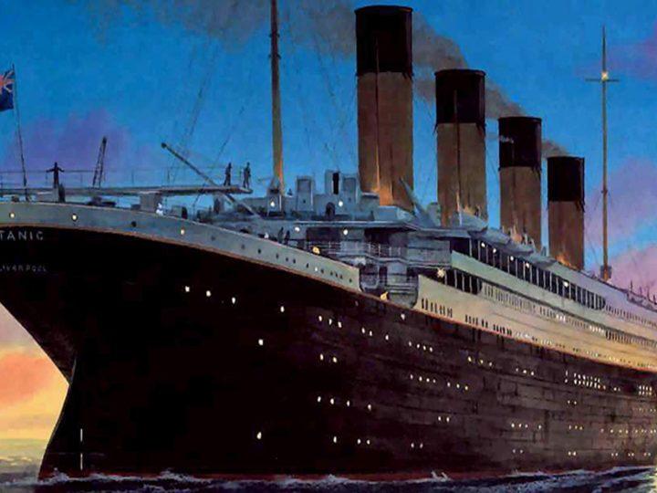 La noche que se hundió el Titanic