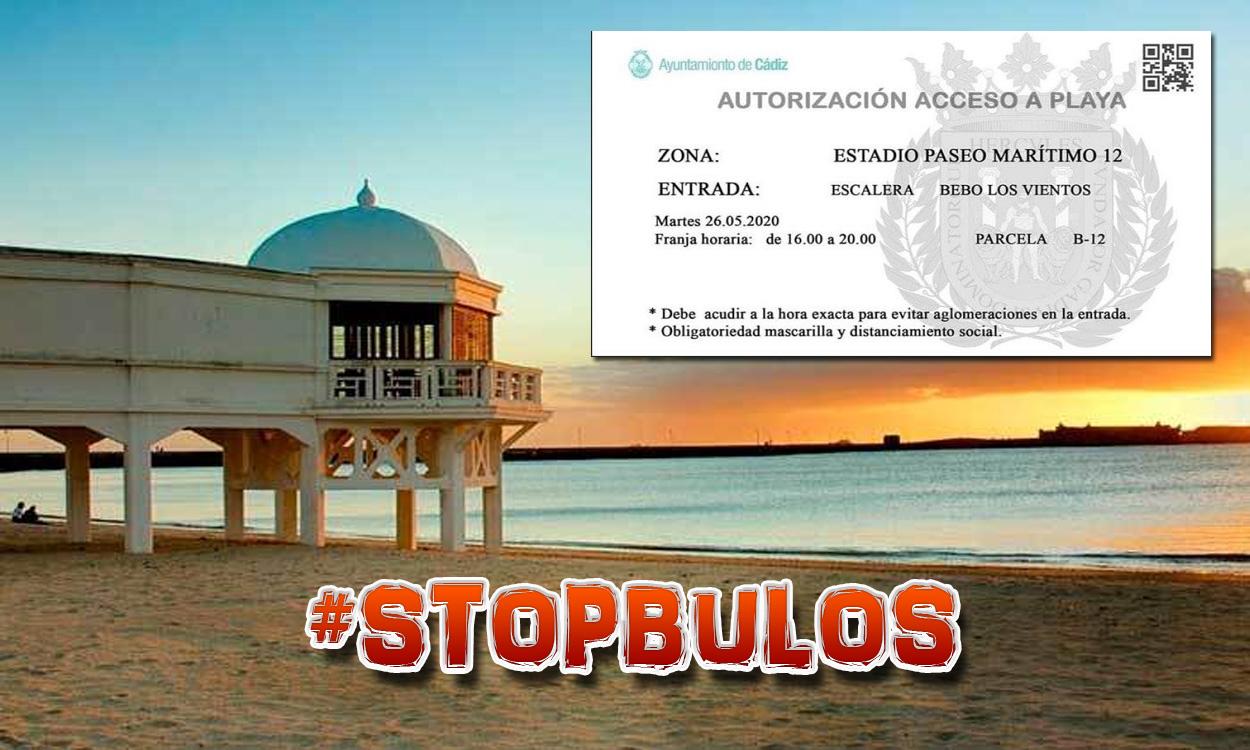 Falso: no se necesitarán tickets para ir a las playas de Cádiz
