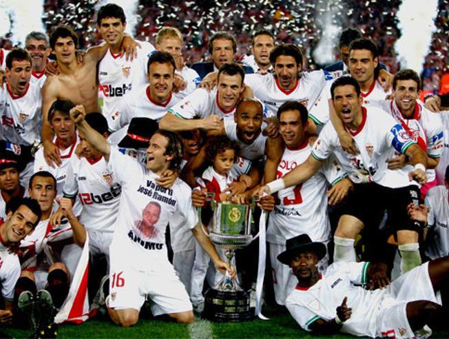 Capel recuerda una década después el título más canterano del Sevilla