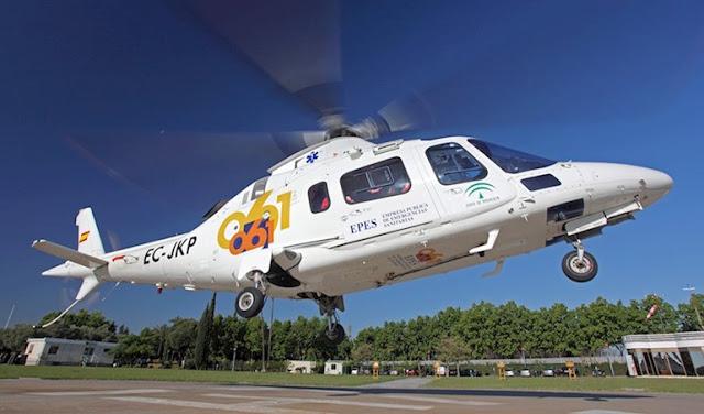Rescatado en helicóptero parapentista accidentado en la sierra de Pulpí (Almería)