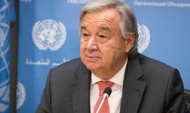 El secretario general de la ONU dice que el mundo está 'fallando la prueba' en una pandemia, al alcanzar más de 400.000 casos en un día