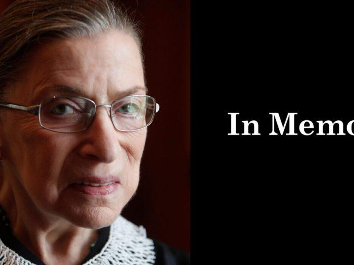 La jueza Ruth Bader Ginsburg, icono feminista, muere a los 87 años  al sucumbir a un cancer