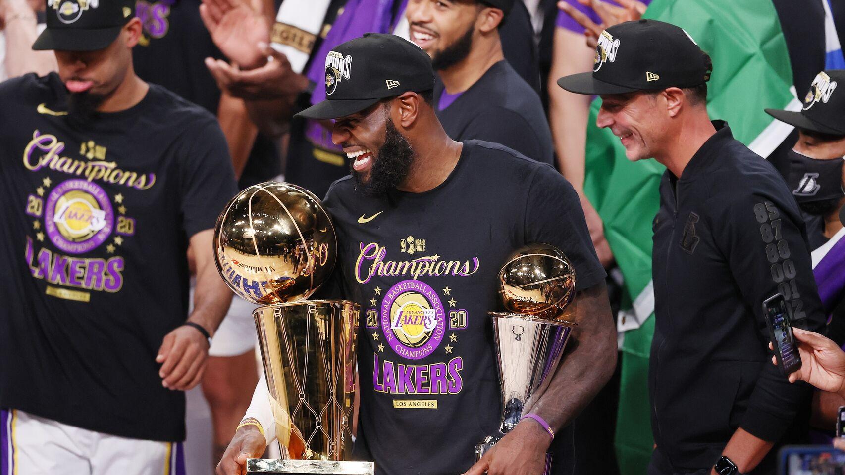 Lakers ganan su 17 ° campeonato de la NBA