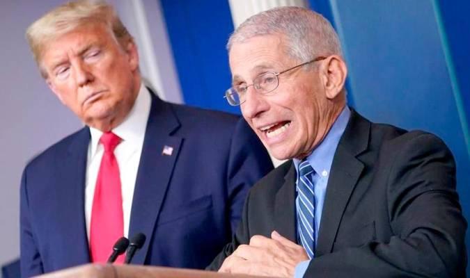 Trump de la nota: llama idiota al epidemiólogo jefe de Estados Unidos