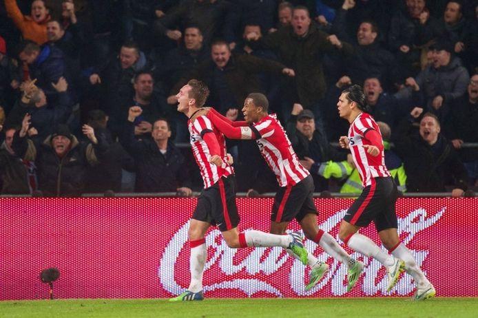 Tres ex campeones del PSV, coinciden en Sevilla