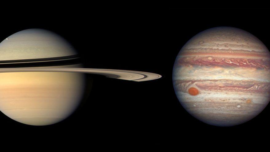 Júpiter y Saturno se unirán en el cielo en un 'planeta doble' por primera vez desde la Edad Media