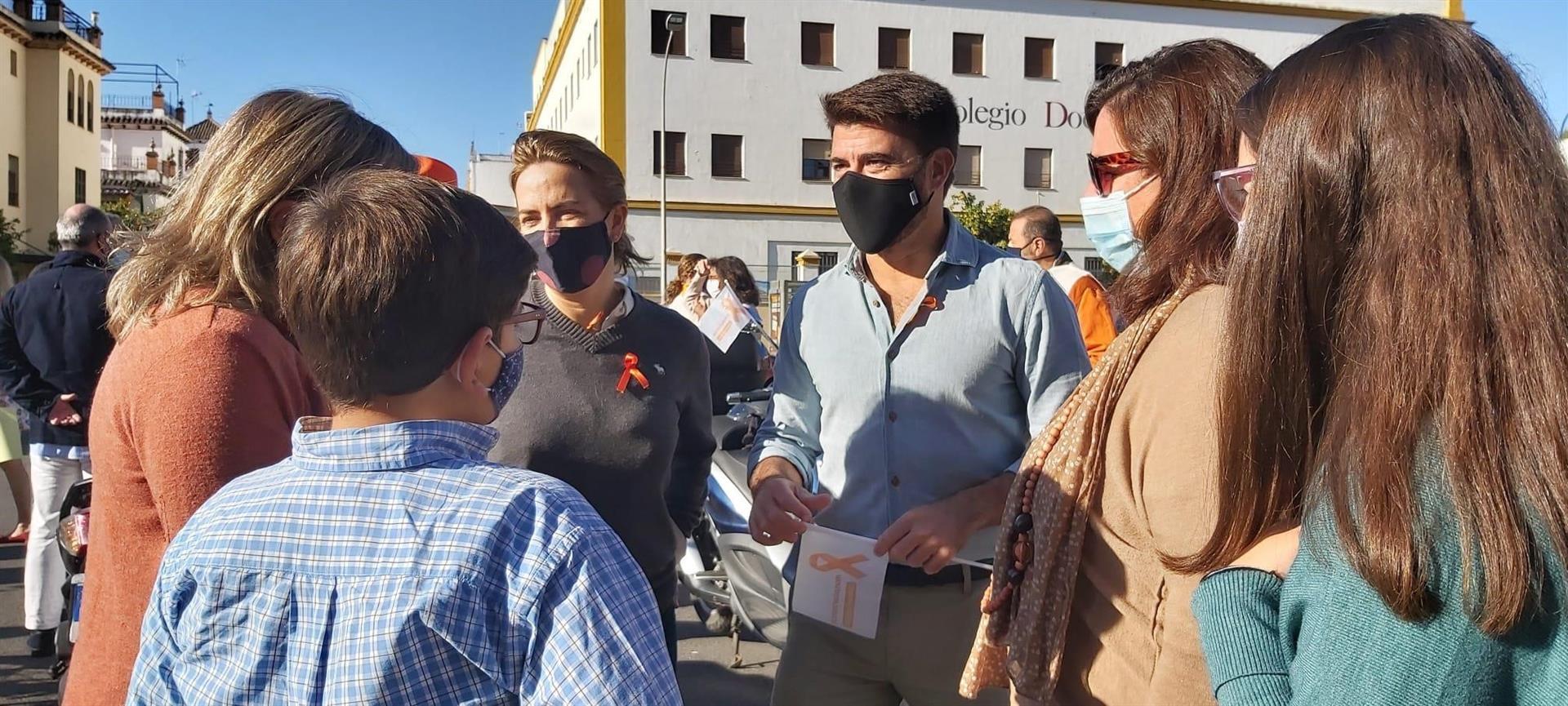 El PP apoya las protestas de la concertada contra la Ley Celaá