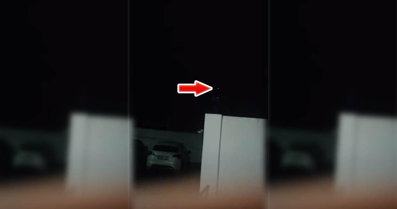 Extraño OVNI divisado en la localidad onubense de Manzanilla