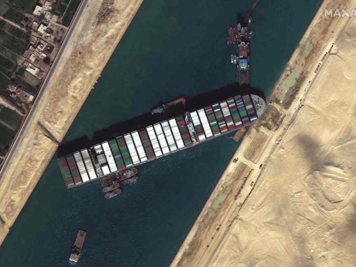 La sorprendente multa que tendrá que pagar el Ever Given por paralizar el Canal de Suez
