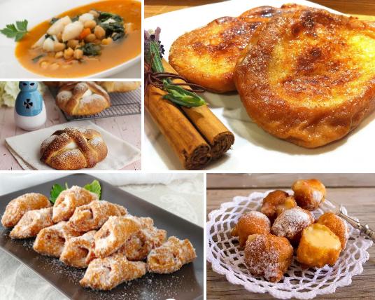 Las 5 comidas más típicas de Semana Santa