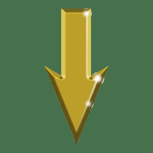 image flèche dorée