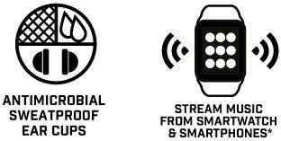 Blueant Pump Zone Wireless Bluetooth Sweatproof Headset