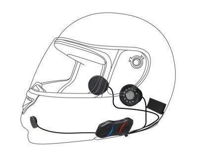 Sena 10R-10 Low Profile Bluetooth Headset w/ Handle Bar