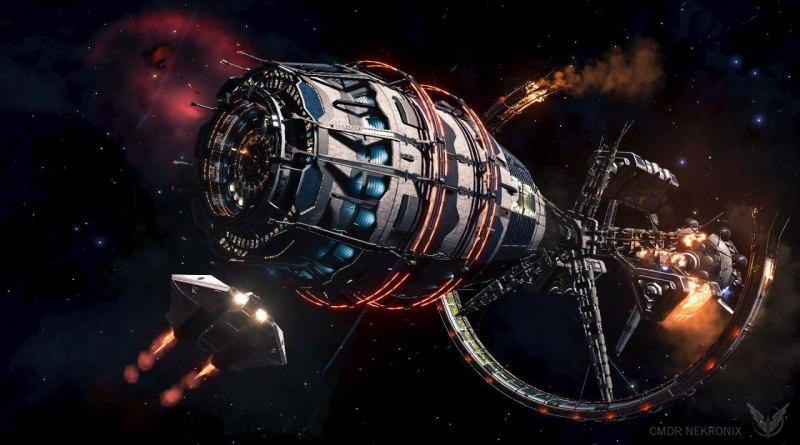 Noticias de la Galaxia: Estaciones Espaciales atacadas por Thargoides