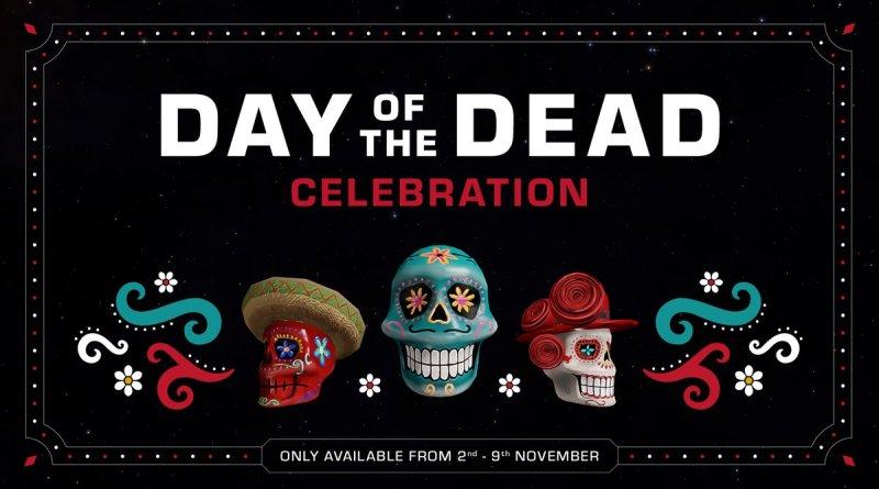 Línea temporal del evento de Halloween