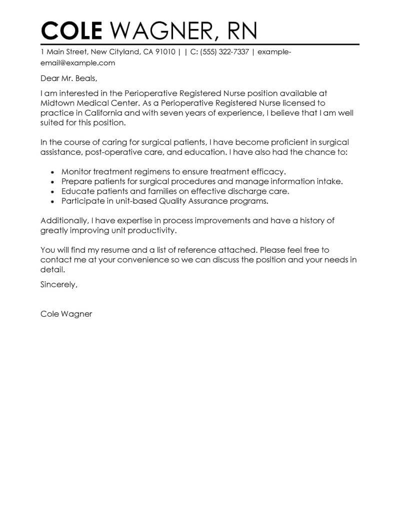 Admission Nurse Cover Letter Amazing Healthcare Cover Letter Examples Templates From Our