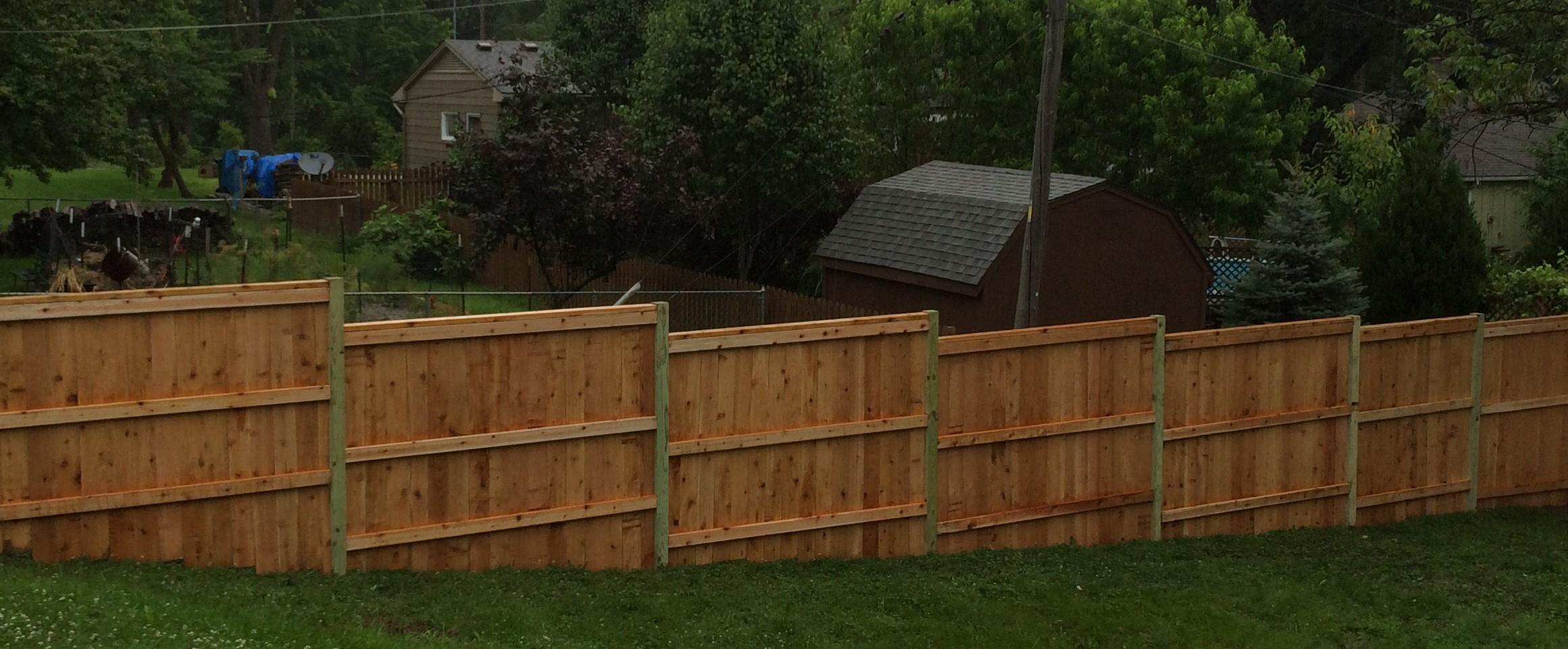 wood fences elite fence