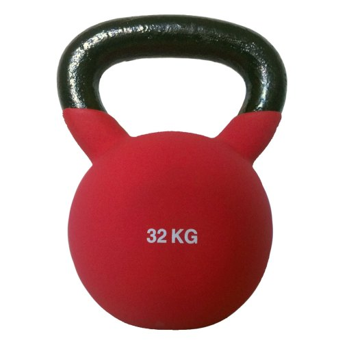 Kettlebells_Cast_iron_neoprene_covered_varying_weights_Elite_Fitness_Equipment_Perth