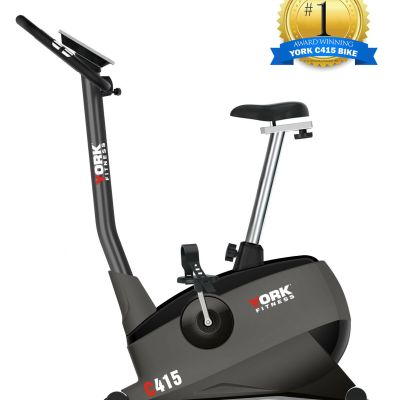 York-Exercise-Bike-C415-Choice-Award-Winner-Upright-Bike-online-in-store-Elite-Fitness-Perth