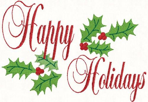 happy holidays season